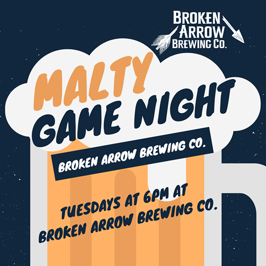 After a month of delays we are finally ready for Malty Game Night with @maltyjoe