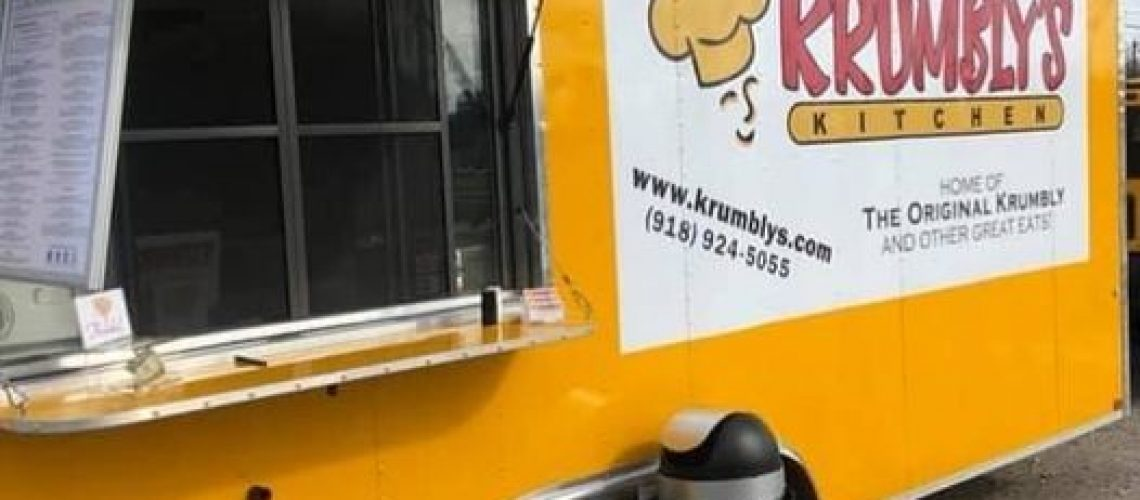 @krumblys will be here for dinner this evening from 5-9!!