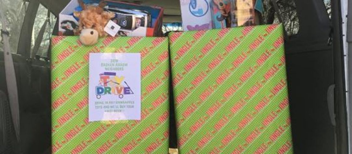 Thank you to everyone who donated toys for our toy drive!!! We were able…