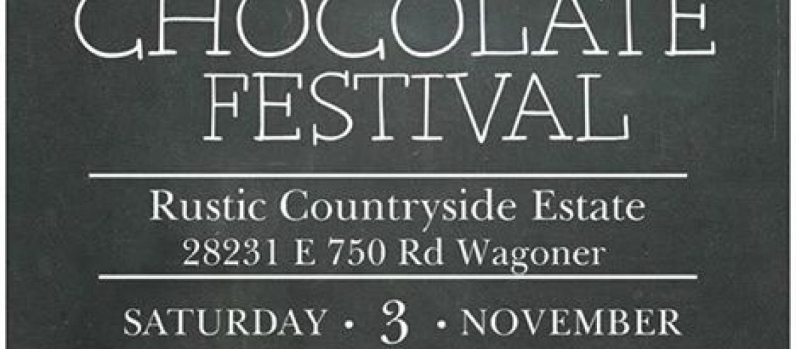 We are going to be out at the Wine and Chocolate Festival at Rustic…